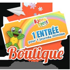 Kidou récré, la boutique, achetez vos billets pour le parc en ligne